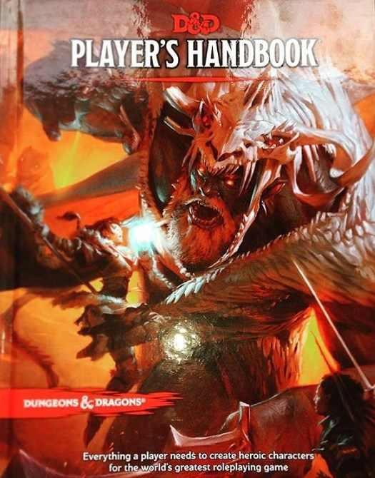 D&D 5th Edition: Player's Handbook  Wizards of the Coast (2014)